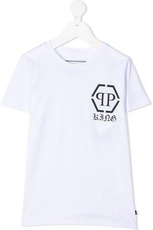 Philipp Plein King hexagon logo T-shirt