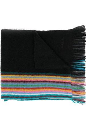 Paul Smith Men Scarves - Reversible multiple-edge virgin wool scarf