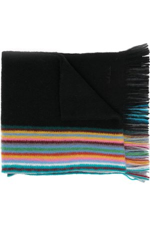 Paul Smith Reversible multiple-edge virgin wool scarf