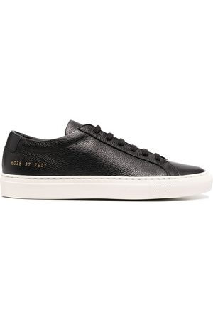 COMMON PROJECTS Pebbled-finish low-top sneakers