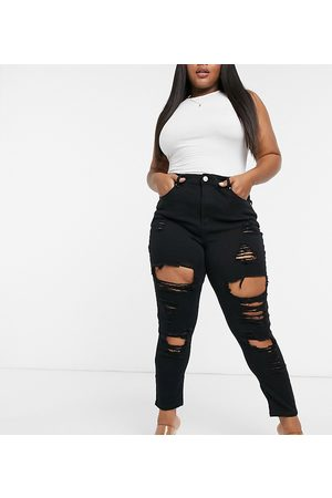 Yours Skinny super ripped jeans in