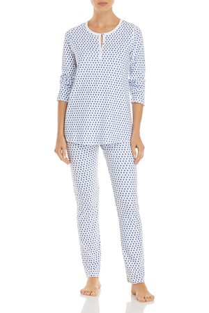 Roller Rabbit Cotton Hearts Print Pajamas Set