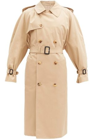 WARDROBE.NYC Release 04 Cotton-drill Trench Coat - Womens