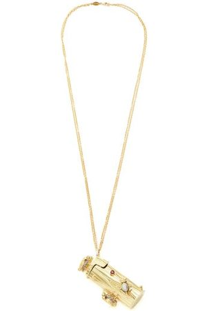 DANIELA VILLEGAS La Aventura Diamond & Opal 18kt Necklace - Womens