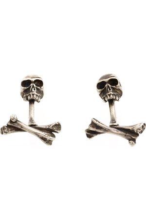 WERKSTATT:MÜNCHEN Men Cufflinks - Skull cufflinks - Metallic