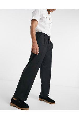 ASOS Wide leg suit pants in