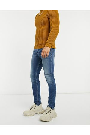 ASOS Skinny jeans in dark vintage japanese wash