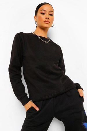 Boohoo Womens Basic Sweatshirt - - 2