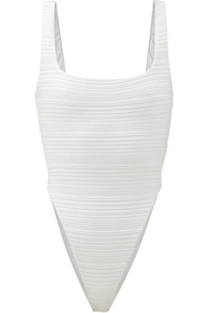 Mara Hoffman Idalia Square-neck Recycled-fibre Swimsuit - Womens