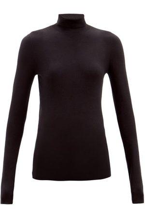 Joseph Roll-neck Silk-blend Sweater - Womens