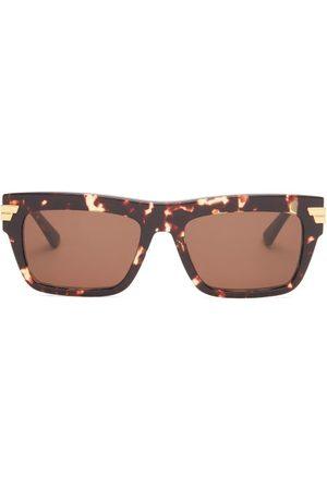 Bottega Veneta Square Tortoiseshell-acetate Sunglasses - Mens
