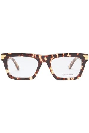 Bottega Veneta Square Tortoiseshell-acetate Glasses - Mens
