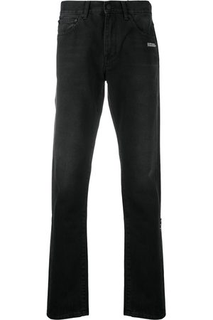 OFF-WHITE Men Slim - Diag slim-fit jeans