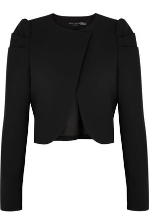 ALICE+OLIVIA Addison cropped blazer