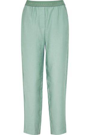 Viktoria & Woods Women Tapered - Drifter sage tapered-leg trousers