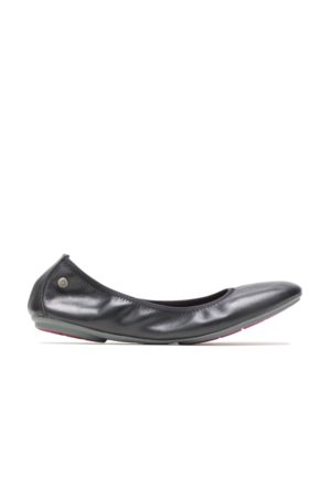 Hush Puppies Women's Chaste Ballet Flats, Size 6 Extra Wide Width, Leather