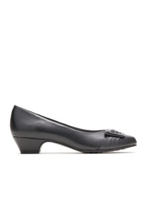 Hush Puppies Women's Pleats Be With You Heels, Size 6 Extra Wide Width