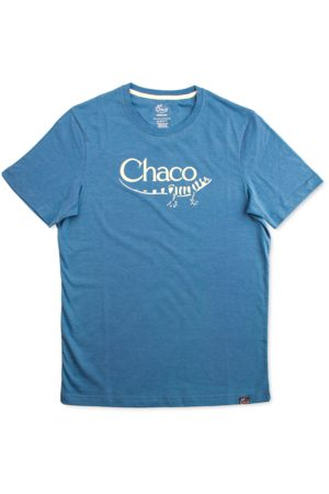Chaco T-shirts - Heritage Logo Tee Deep Teal, Size L
