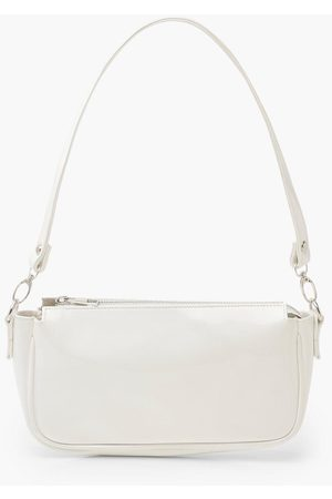 Boohoo Womens Patent Shoulder Bag - - One Size