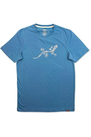 Chaco Gecko Graphic Tee Deep Teal, Size L
