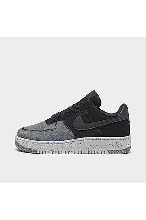 Nike Women's Air Force 1 Crater Casual Shoes in Grey/ Size 6.0 Leather