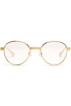 Gucci Women Sunglasses - Round Metal Glasses - Womens