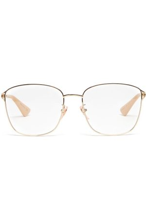 Gucci Women Sunglasses - Square Metal Glasses - Womens