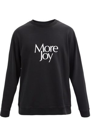 More Joy by Christopher Kane More Joy-print Cotton-jersey Sweatshirt - Mens