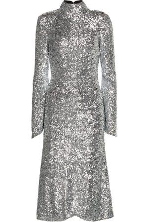 Rebecca Vallance Gatsby sequined midi dress