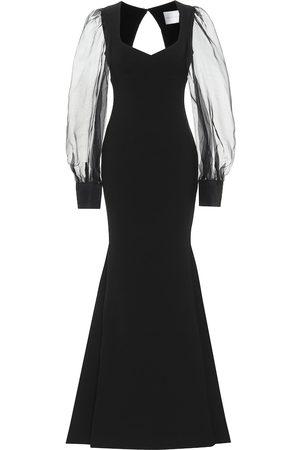 Rebecca Vallance Barbie crêpe gown