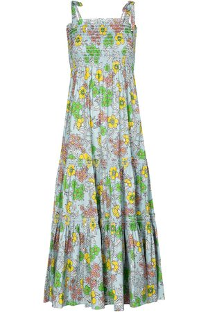 Tory Burch Floral cotton-blend maxi dress
