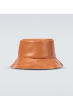 Loewe Leather fisherman hat