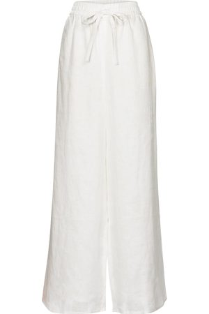 ZIMMERMANN Brighton wide-leg linen pants