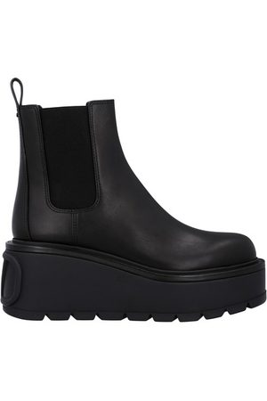 VALENTINO Women Ankle Boots - Platformed Chelsea boots
