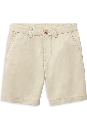 Ralph Lauren Little Boy's & Boy's Flat Front Shorts - - Size 12