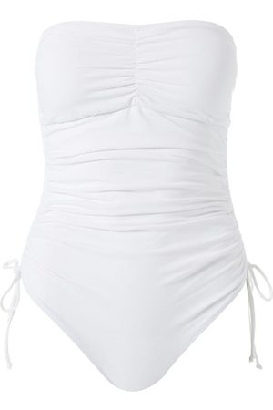 Melissa Odabash Women's Sydney One-Piece Ruched Tie Swimsuit - - Size 10
