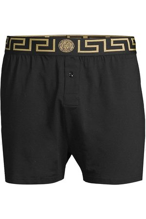 VERSACE Men's Baroque Long Underpants - - Size 3 (XS)