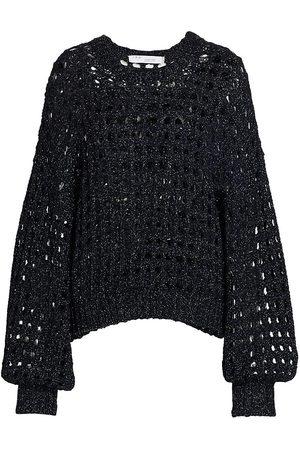 IRO Women's Alyne Open-Knit Sweater - - Size Large