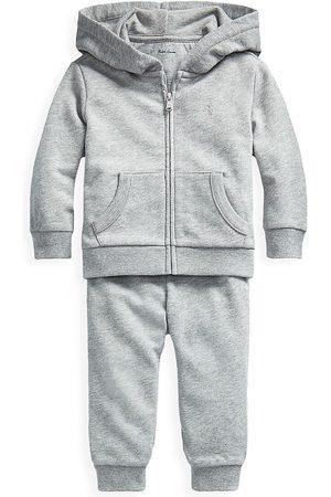 Ralph Lauren Baby Boy's Atlantic Terry 2-Piece Track Suit Set - - Size 6 Months