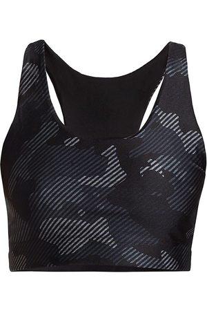 Terez Women's Reversible Printed Sports Bra - - Size XS