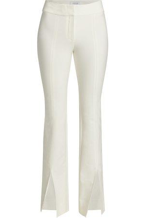 Derek Lam Women's Maeve Slit-Hem Flare Trousers - - Size 6