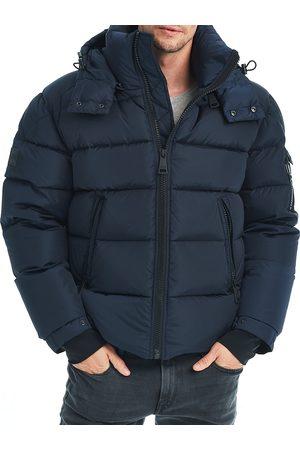 SAM. Men's Matte Glacier Puffer Jacket - Navy - Size Medium