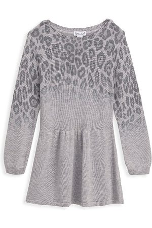 Splendid Little Girl's Ombre Leopard Dress - - Size 4T
