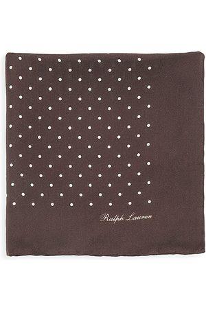 Ralph Lauren Men Pocket Squares - Polka Dot Silk Pocket Square