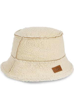 UGG Men's Exposed Shearling Bucket Hat - - Size Large/XL