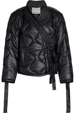 3.1 Phillip Lim Women's Utility Ripstop Kimono Jacket - - Size Large