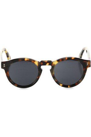 ILLESTEVA Women's Leonard 48MM Classic Round Sunglasses