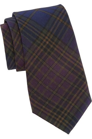 Ralph Lauren Men's Plaid Silk Tie