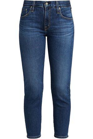 AG Jeans Women's Ex-Boyfriend Slim-Fit Cropped Jeans - - Size 29 (6-8)