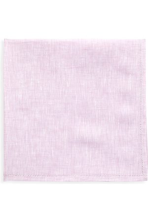 Kiton Men's Heathered Silk Pocket Square